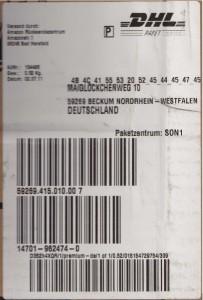Amazon Parcel Sticker